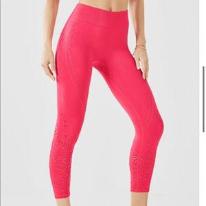 Fabletics seamless high waisted capri size med new